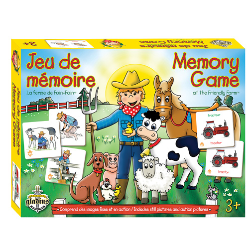 Memory game at the Friendly Farm
