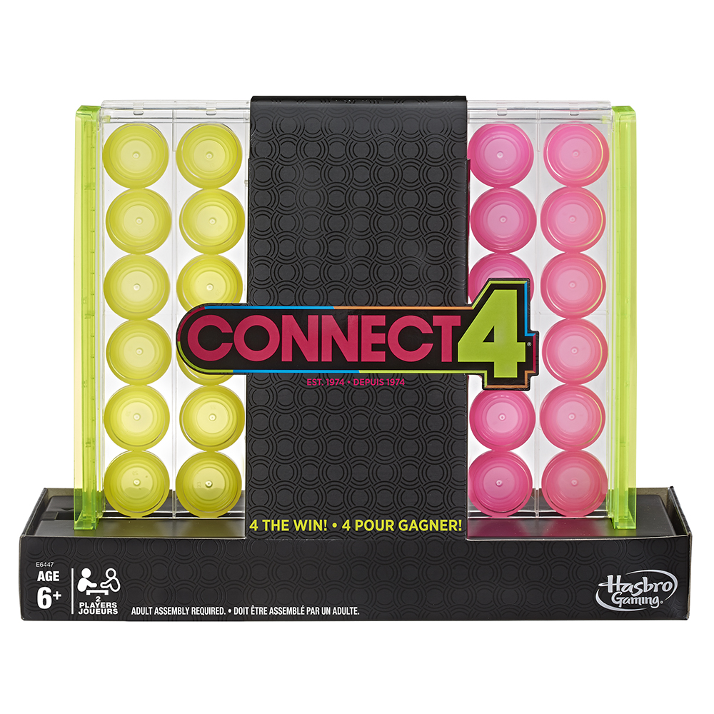 Connect 4 version néon