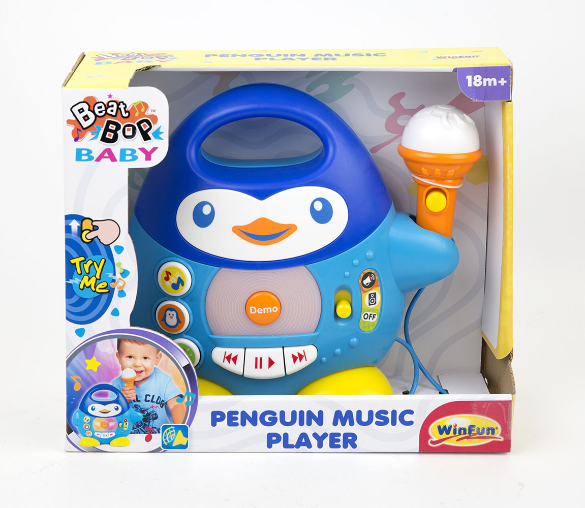 Music player - Pingouin